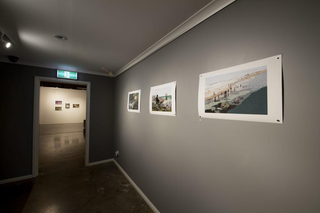 'Coastal Echoes', Christopher and Therese Williams, installation view, praxis ARTSPACE, September 2018. Photography by Iain Bond.