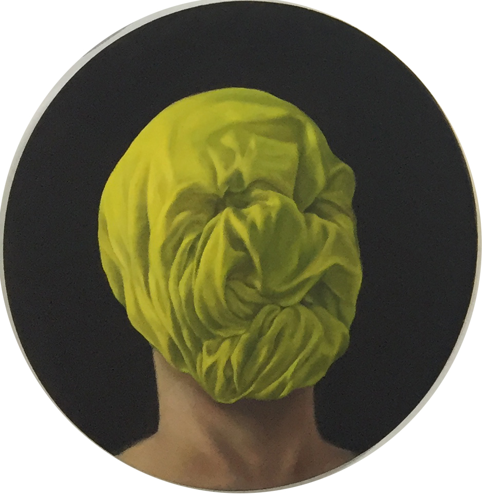 Luke Thurgate, 'A Confirmed Pervert',  b2016, oil on board, 35cm diameter. Courtesy the artist.