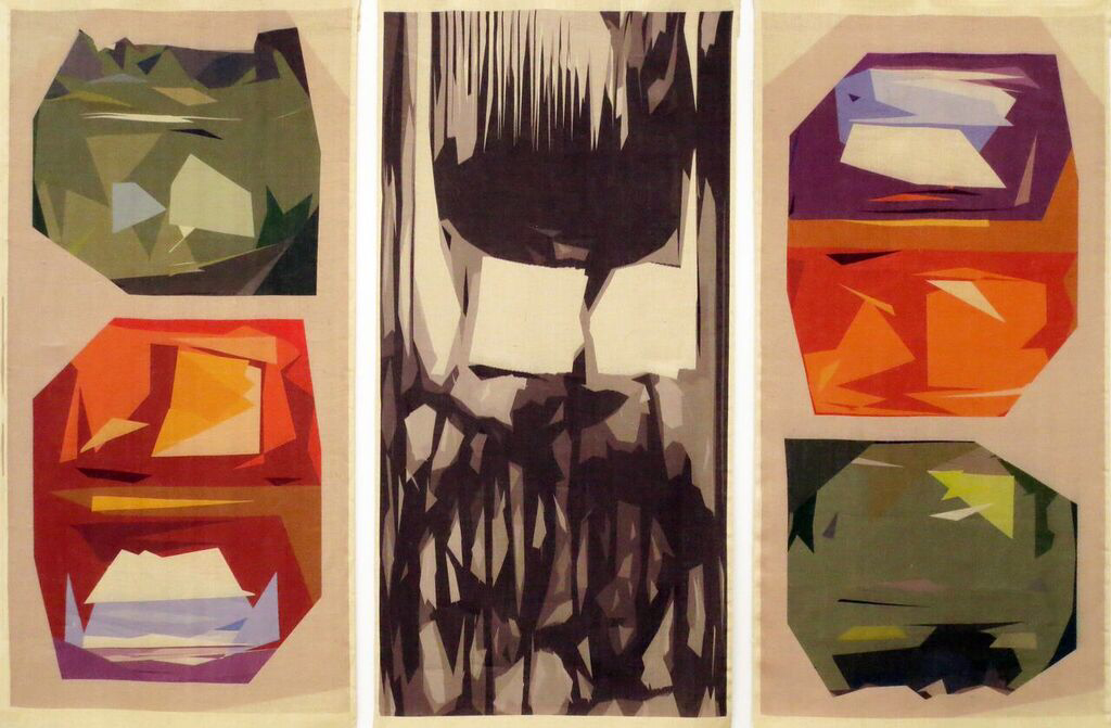 Andrea Przygonski, 'Altar to the Underground' (triptych), 240 x 120cm each panel. Courtesy the artist.