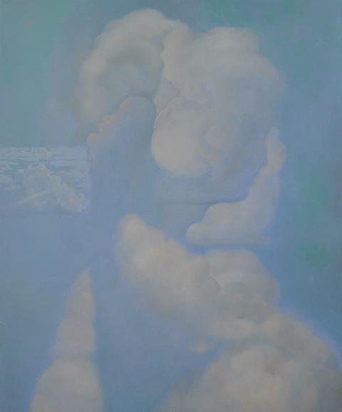 Rob Gutteridge, 'Mirage', Oil on linen, 120x100cm. Courtesy the artist.