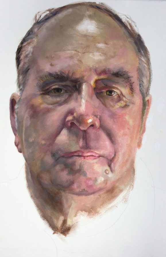 Andrea Malone, 'Gary', Oil on 300gsm Arches paper. Courtesy the artist.