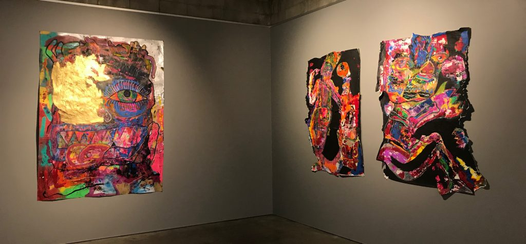 'Colour Me', installation view of work by Francois Evangelista, praxis ARTSPACE, November 2017