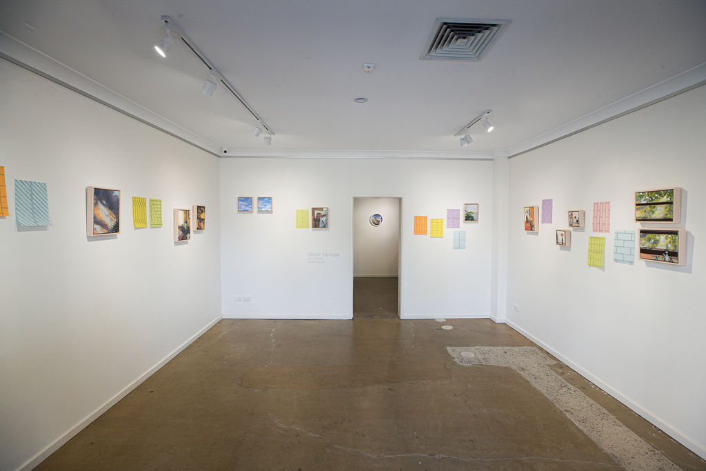 Zoe Freney and Jessie Lumb, 'Silver Linings', installation view, praxis ARTSPACE, 2019. Photography by James Field.