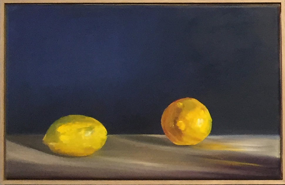Tricia Ross, 'Alla Prima (Lemons)', 2016, Oil on canvas, 37 x 58 x 5cm. Courtesy the artist.