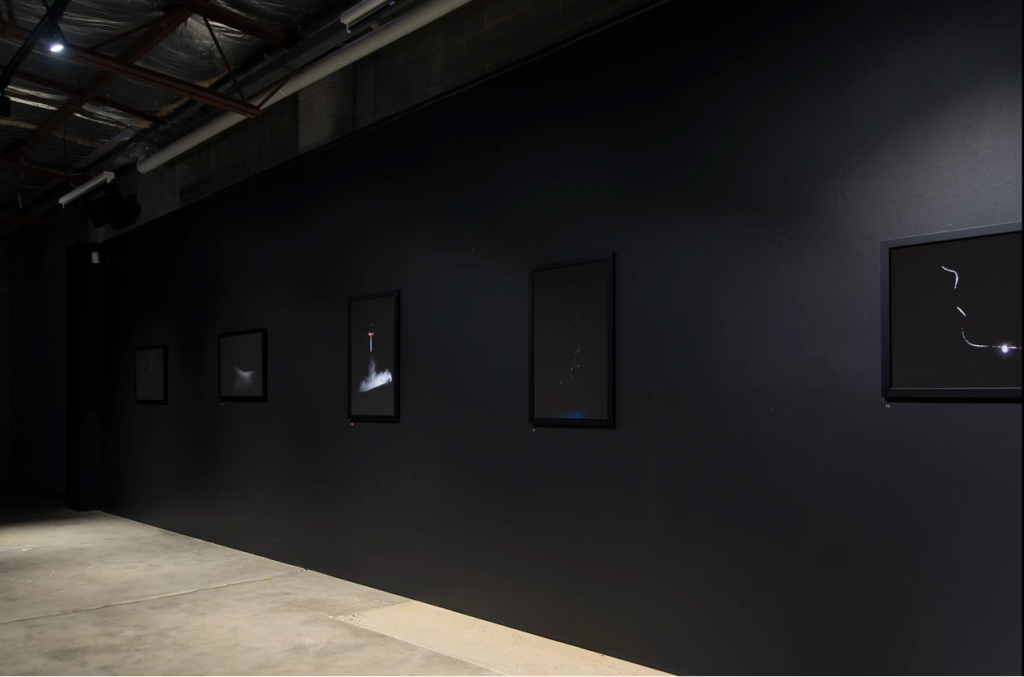 'Proximal Orbit'. installation view, praxis ARTSPACE, February 2019. Photography by Daniel Marks.
