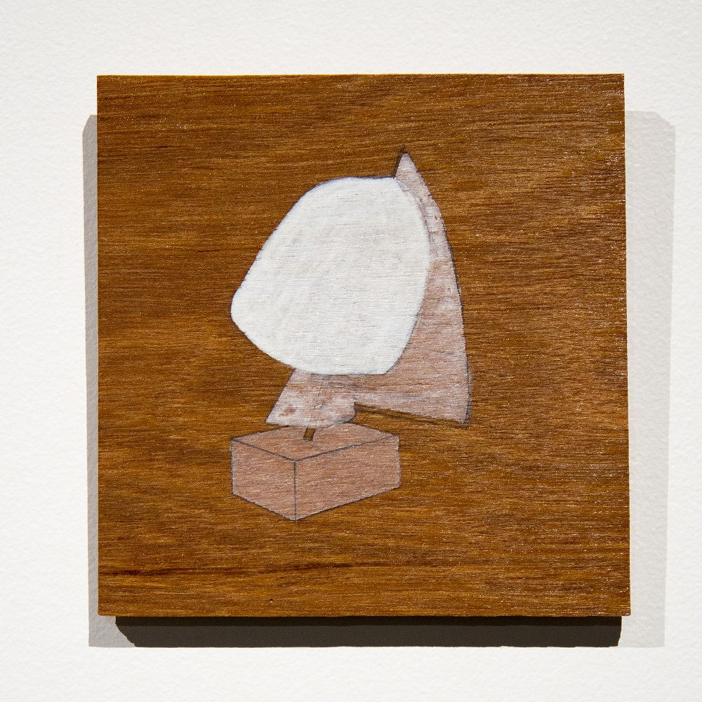 Edwina Cooper, 'Landwreck' 2-9, 2020, Marine ply, graphite, gesso, marine varnish, dimensions variable. $110 each. Photography by Steph Fuller.