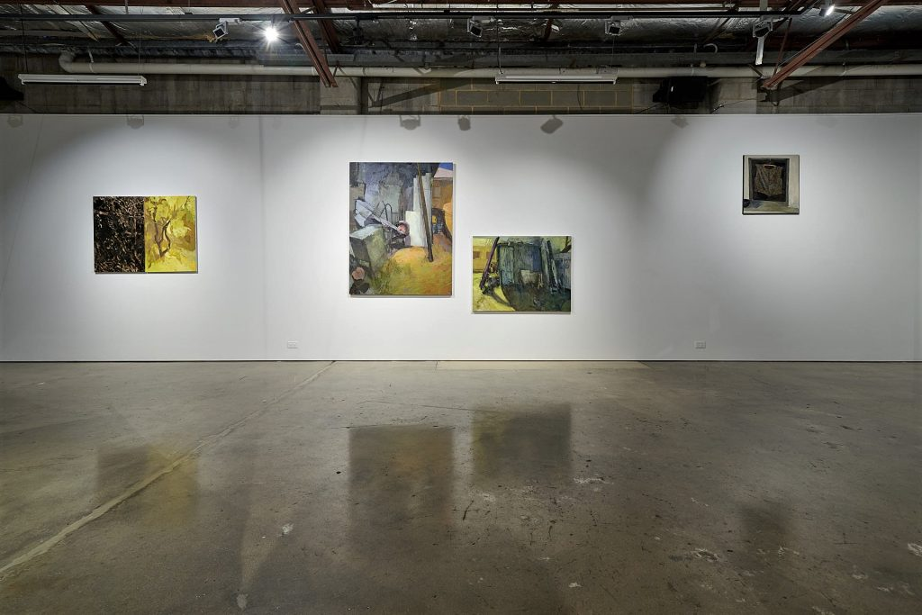 Installation view of works by Lucy Turnbull, Praxis Artspace. Photography by Sam Roberts.