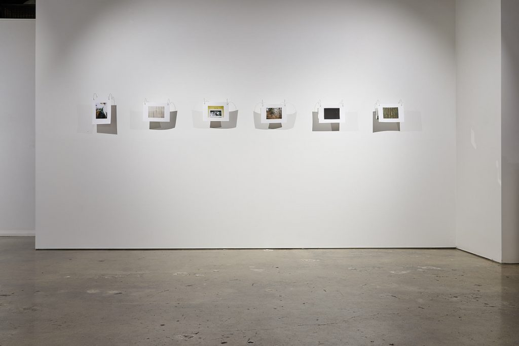 Nicole Clift, 'views' series, 2020, 35mm film photography on double-sided 276gsm cotton rag, brass rods, mirror, brass eyelets. Photography by Sam Roberts.