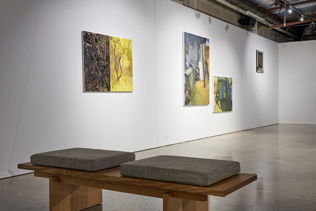 Installation view of artwork by Lucy Turnbull, Praxis Artspace. Photography by Sam Roberts