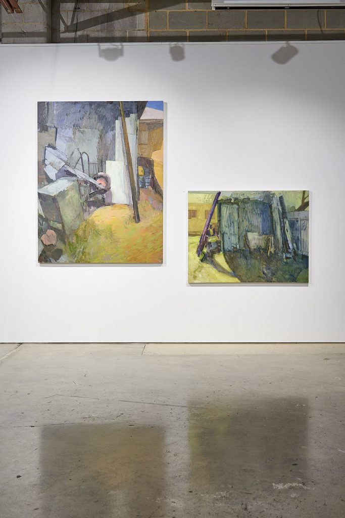 Installation view of artwork by Lucy Turnbull, Praxis Artspace. Photography by Sam Roberts.