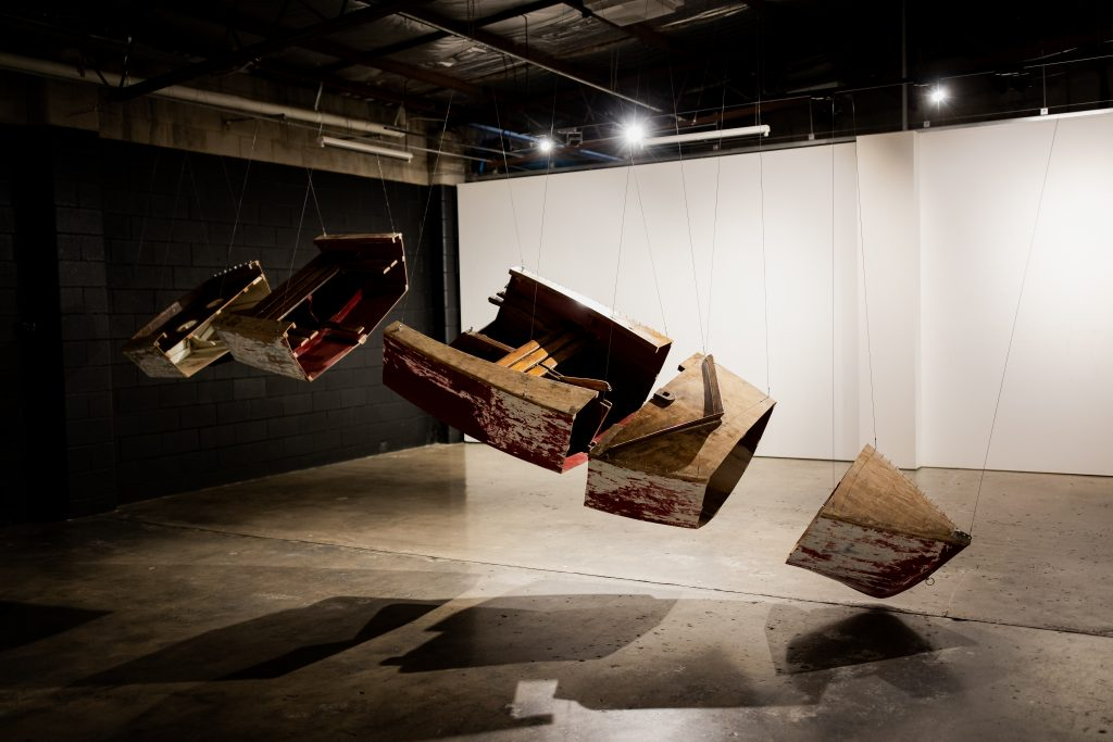 Record of a Boat - skeletal fragmentsPhotography 13 May, 2021 by Rosina Possingham.